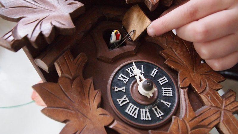 Mécanisme horloge coucou